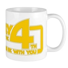 May the 4th be with you Small Mug