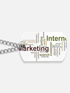 marketing mix Dog Tags