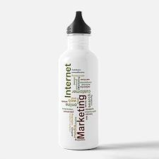 marketing mix-vertical Water Bottle