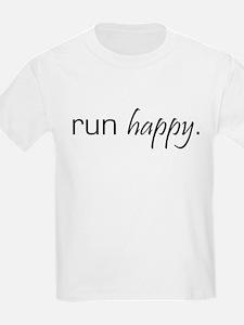 Run Happy Kids T-Shirt