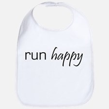 Run Happy Bib