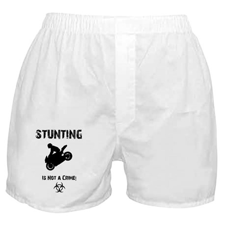 Stunting is not a crim Boxer Shorts