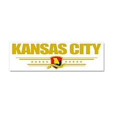 Kansas Cityi (Flag 10) pocket Car Magnet 10 x 3