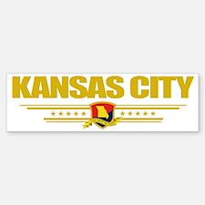 Kansas Cityi (Flag 10) pocket Bumper Bumper Sticker