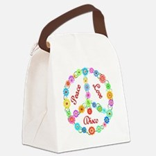 disco Canvas Lunch Bag