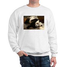 Tai Shan Resting on Log Sweatshirt