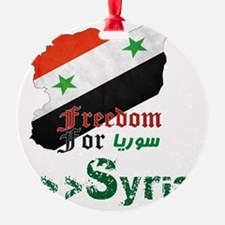 Freedom for syria Ornament