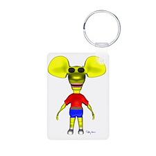 3D_ratboysunglasses_sig Keychains
