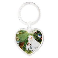 halcyondays Heart Keychain