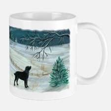 Winter Labrador Mug