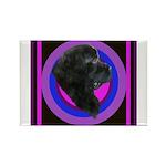 Newfoundland Profile Rectangle Magnet (100 pack)