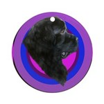 Newfoundland Profile Ornament (Round)