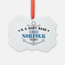 VA Norfolk 1 Ornament