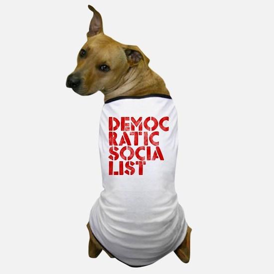 DEM-SOC-RED Dog T-Shirt