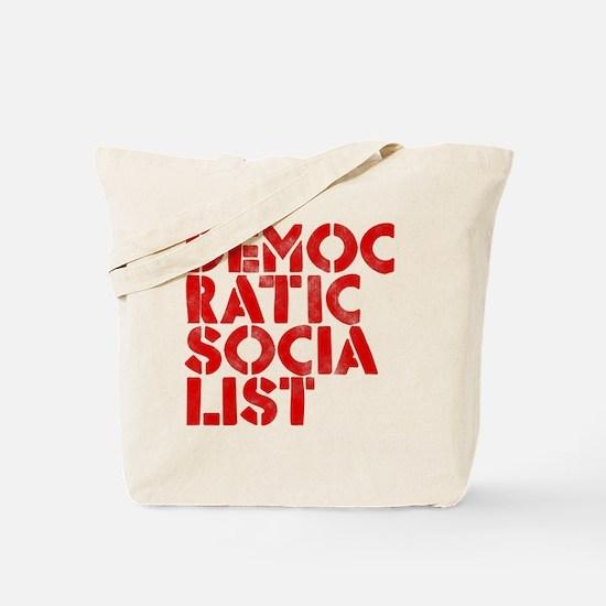 DEM-SOC-RED Tote Bag