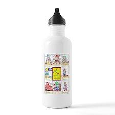 Sawmill Pottey Dwarves Water Bottle