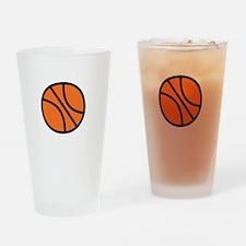 BBall Bro -dk Drinking Glass