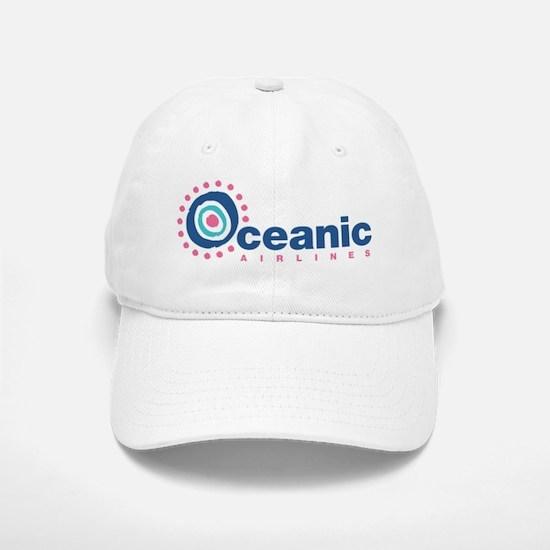 Oceanic Airlines Wht Baseball Baseball Cap