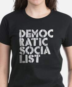 DEM-SOC-White Tee