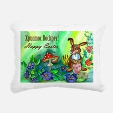 easter_bunny_bi Rectangular Canvas Pillow