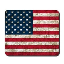USA Grunge Mousepad