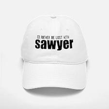Sawyer Wht Baseball Baseball Cap
