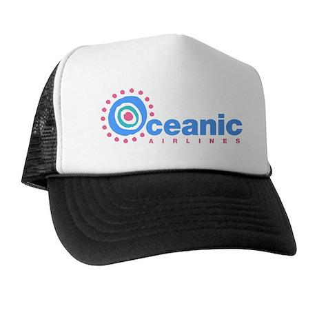 Oceanic Airlines Blk Trucker Hat