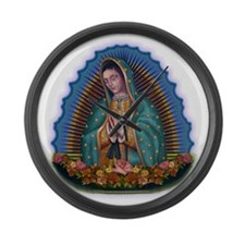 Lady of Guadalupe T1 Large Wall Clock