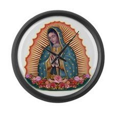 Lady of Guadalupe T2 Large Wall Clock