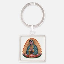 Lady of Guadalupe T2 Square Keychain