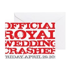 Royal Wedding Crasher Greeting Card
