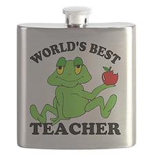 Frog Apple Flask