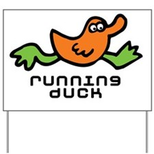 running_duck Yard Sign