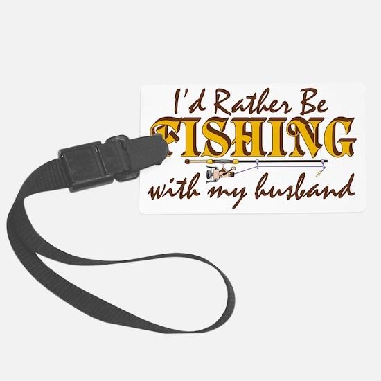 fishinghusband Luggage Tag