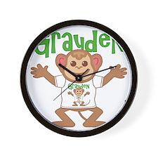 grayden-b-monkey Wall Clock