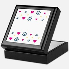 All My Kids Have Paws Keepsake Box