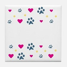 All My Kids Have Paws Tile Coaster