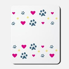 All My Grandkids Have Paws Mousepad