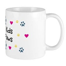 All My Kids Have Paws Small Mug