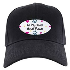 All My Kids Have Paws Baseball Hat