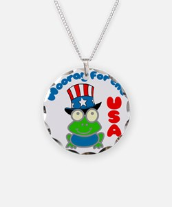 frog-USA Necklace