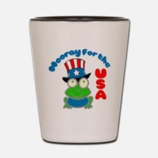 frog-USA Shot Glass