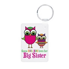 GuessHooLovesBigSister Keychains
