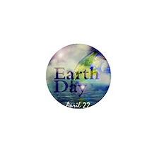 EarthDay555 Mini Button