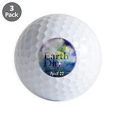 EarthDay555 Golf Ball