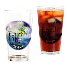 EarthDay555 Drinking Glass