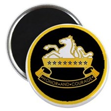 8th-Cavalry-round-charm Magnet