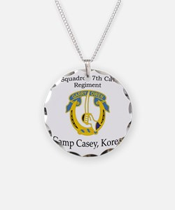 4th Squadron 7th Cavalry Necklace
