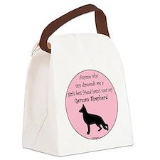 GBF_German Shepherd Canvas Lunch Bag