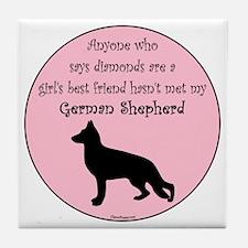 GBF_German Shepherd Tile Coaster
